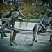 Társalgás szobor módra