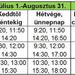 menetrend 2014 2