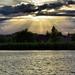 Tyndall a tó felett
