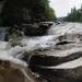 vízesés sziklái