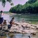 nyaraló, libák, sziklák, folyók