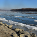 A jeges Duna partján