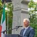 Font Sándor (országgyűlési képviselő) beszédet mond az emlékünne