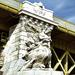 Margit híd egyik szobra Budapest