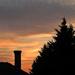 Lemenő Nap a téli napfordulón. Beköszöntött a csillagászati tél.