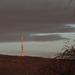 Tv torony a reggeli, téli fényben