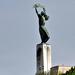 Szabadság-szobor hátulról Budapest