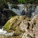 Vízesés Patak Nyár Alpok