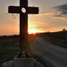 Kereszt Naplemente Ősz