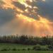 Napfény Felhők