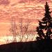 Tüzes felhők