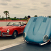 Alfa Romeo Giulia Spider Veloce 1965 - Jaguar E-Type