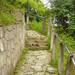 Tokaj, lépcsősor a Finánc-domra