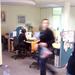 Nyüzsi az irodában