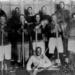 Black Hockey Team ca 1910 public domain