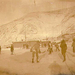 Boys playing ice hockey, Dawson, Yukon Territory