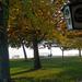 Csopaki strand ősszel