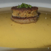 Fácánleves libamáj lepénnyel