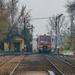 Távolodó vonat