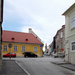 Dorfmeister utca a Szent Mihály templommal
