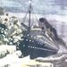 A Titanic jégheggyel ütközik fantázia festmény