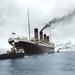 Titanic kifutás előtt - festmény az internetről