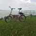 Retró bicikli és balatoni hangulat