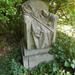 Anonymus szobor alkotójának sírja a kerepesi temetőben stílusosa