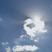 Fényjáték felhővel