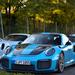 Porsche 911 GT2 RS x2 (991)