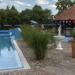 Ráckeve - Duna Relax hotel - külső medence reggel