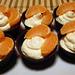 Mandarinos mascarpone csoki kosárkában