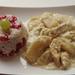 Almás-tormás csirkemell gránátalmás rizzsel