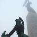 Szabadság-szobor ködösen