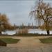 Savolyai Kastély előtti park