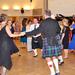 Kivetítőn a tánc menete