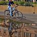 Mosolygós biciklisták