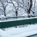 a hó rátelepedett
