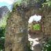 Somoskői vár, belső fal darab