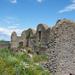 Somoskői vár, északi és keleti várfal maradványok