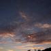 égi fények, kékes-barnás kontrasztok