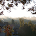 reggeli fények, az őszi napkelte
