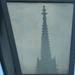 Lámpában tükröződő Mátyás-templom