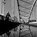 Tócsa a szegedi Belvárosi-hídon